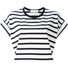 Vanessa Bruno Athé striped crop top